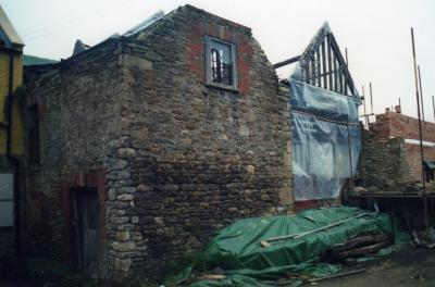 Derelict brewery - major renovation works